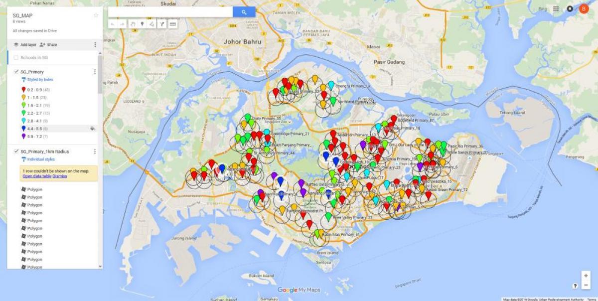 Singapore Map Maps Singapore Republic Of Singapore - Singapore map